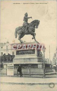 Ansichtskarte AK Orleans Jeanne d'Arc par Foyatier Courses d'Orleans