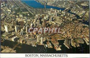 Moderne Karte Boston Massachusetts