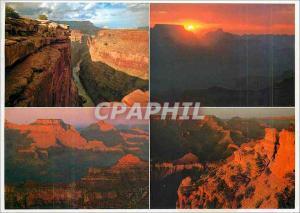 Moderne Karte Scenic Grand Canyon Views