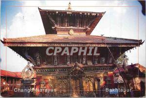 Moderne Karte Changu Narayan Bakhtapur Temple of Lord Vishnu