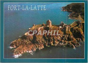 Moderne Karte Fort la Latte (Cotes du Nord) La Bretagne en Couleurs Le Dijon et les anceintes du Chateau Fort