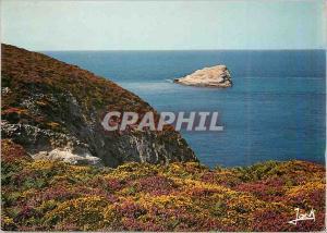 Moderne Karte Le Cap Frehel Couleurs de Bretagne Les Falaises et l'amas du Cap