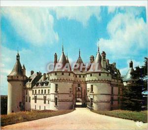 Moderne Karte Chaumont sur Loire (L et C) le Chateau Chateaux de la Loire