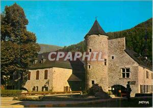 Moderne Karte Saint Lary 830m la Mairie et la Tour Hachan les Pyrenees Porte du Parc National