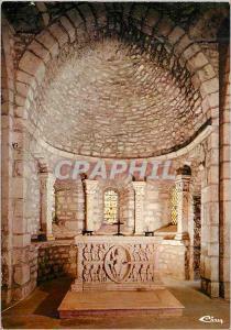 Moderne Karte Avenas Autel Roman du XIIe s Face Principale avec le Christ en Gloire Entoure des Quatre Betes