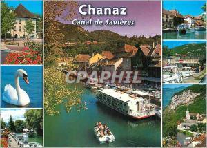 Moderne Karte Chanaz (alt 230m) Entre le Lac du Bourget et le Rhone Savoie Images d'un Bourg au Charme Authent