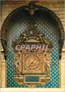 Moderne Karte Paris La Conciergerie Tour de l'Horloge