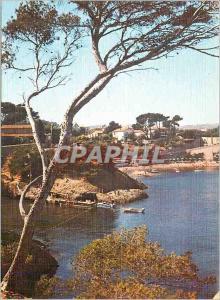 Moderne Karte La Ciotat Lumiere et Beaute de la Cote d'Azur La Calanque du Mugel