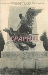 Ansichtskarte AK Champ de Bataille de Waterloo 1815 Monument eleve aux Soldats Francais a l'endroit ou se Concent
