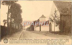 Ansichtskarte AK Waterloo Ferme de Mont St Jean Etablie par l'Ordre du Temple