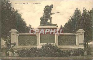 Ansichtskarte AK Tirlemont Monument Combat de Hautem Ste Marguerite 18 Aout 1914 Militaria
