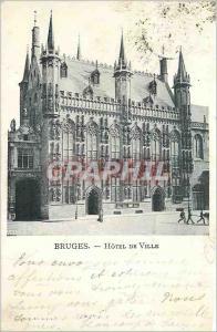 Ansichtskarte AK Bruges Hotel de Ville