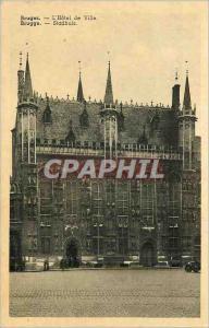 Ansichtskarte AK Bruges l'Hotel de Ville