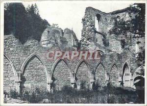 Moderne Karte Ruines de l'Ancienne Eglise d'Orval Restes du Cloitre