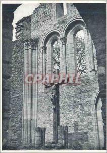 Moderne Karte Ruines de l'Ancienne Eglise d'Orval Mur du Choeur Reconstitue Christ