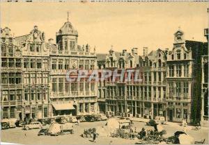 Moderne Karte Bruxelles Grand'Place