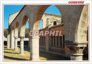 Moderne Karte Gonesse (Val d'Oise) Vestiges de l'Ancien Hotel Dieu