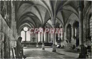 Moderne Karte Abbaye de Royaumont Asnieres sur Oise (Val d'Oise) Ancien Refectoire