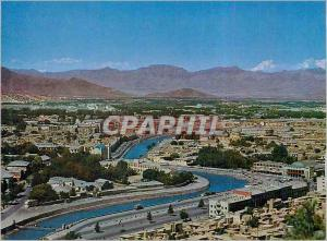 Moderne Karte Afghanistan General View of the City of Kaboul