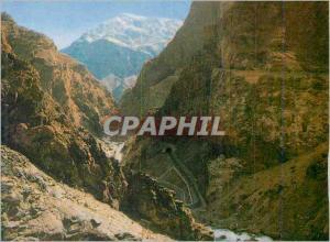 Moderne Karte Afghanistan Kaboul Gorge