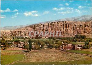 Moderne Karte Afghanistan General view of Big Buddah in Bamiyan