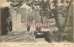 Ansichtskarte AK Paysages Sahariens Dans l'Oasis Une Seguia