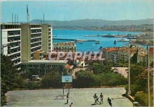 Moderne Karte Alger La Blanche Palais du Gouvernement et Boulevard Mohamed Khemisti Basket Ball Basket-Ball
