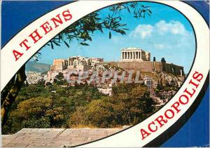Moderne Karte Athens Acropolis