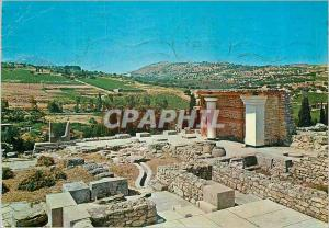 Moderne Karte Cnossos Le Propylees Sud
