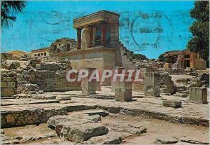 Moderne Karte Cnossos La Douane l'Entree N et le bassin N de Purification