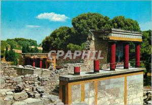 Moderne Karte Cnossos Le Poste de Garde du Palais