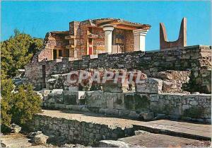 Moderne Karte Crete Cnossos Les Propylees du Sud Palais de Cnossos