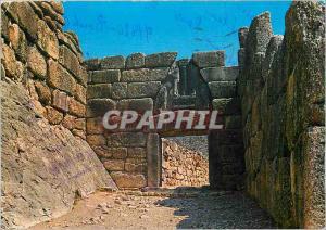 Moderne Karte Mycenes la Porte des Lions