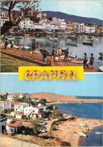 Moderne Karte Llansa (Costa Brava Gerona) Detail Port Cap Ras