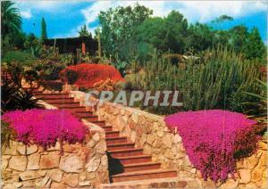Moderne Karte Lloret de Mar Blanes Sta Cristina Girona Costa Brava Jardin Botanico Tropical Pinya de Rosa