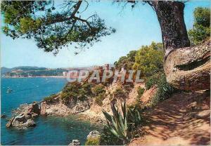 Moderne Karte Lloret de Mar Costa Brava Chemin a Cala Tronsa