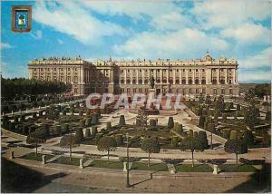 Moderne Karte Madrid Place d'Orient et Palais Royale