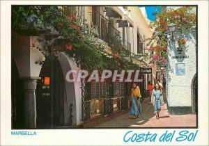 Moderne Karte Marbella (Costa del Sol) Rue Gloire