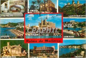 Moderne Karte Mallorca (Baleares) Espana