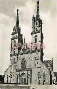 Moderne Karte Bale la Cathedrale