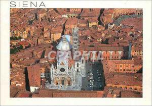 Moderne Karte Siena Vue aerienne du Dome