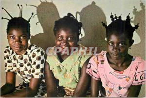 Moderne Karte Jeunes Filles Centrafricaines