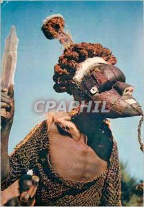 Moderne Karte Masque Africain Mukishis