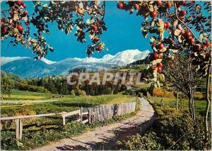 Moderne Karte Combloux (Haute Savoie) l'Ete dans nos Montagnes au Pays du Mont Blanc
