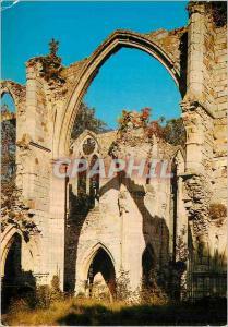 Moderne Karte Abbaye Royale du Lys (XIIIe s) Vue sur la Croisee du Transept Cote Nord