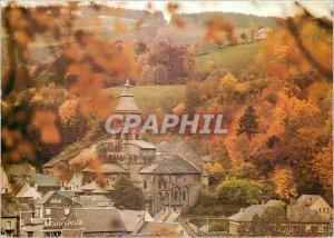 Moderne Karte Puy de Dome Eglise d'Orcival (XIIe) Chef d'Oeuvre pour les Yeux et Temple pour les Ames Victor H