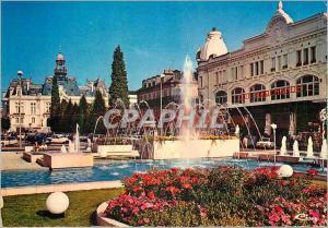 Moderne Karte Vichy (Allier) Place de Gaulle La Cite Marchande et en fond l'Hotel de Ville
