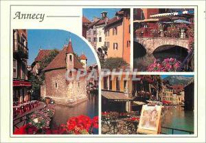 Moderne Karte Annecy (Haute Savoie France) La Vieille Ville