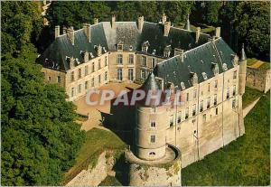 Moderne Karte Chateau de Chateauneuf sur Cher Chateau du Coeur de la France Chateau du XVIe Siecle