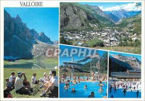 Moderne Karte Valloire 1430 m Centre de Loisirs Lac des Cerces